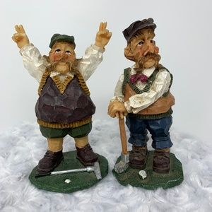 "Figurines, Golf Buddies 5"" Tall"